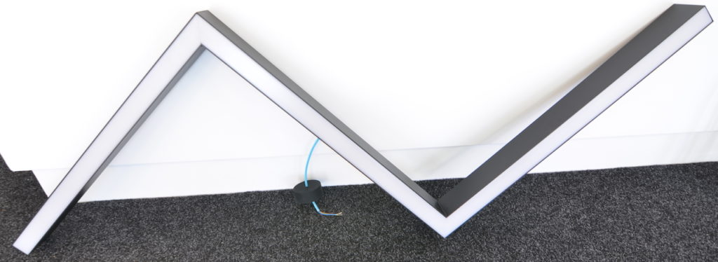 LED linear výroba LEDPROFES