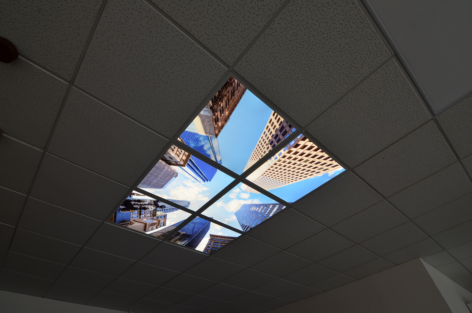 LED motiv strop